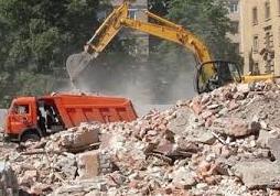Вывоз строительного мусора и грунта